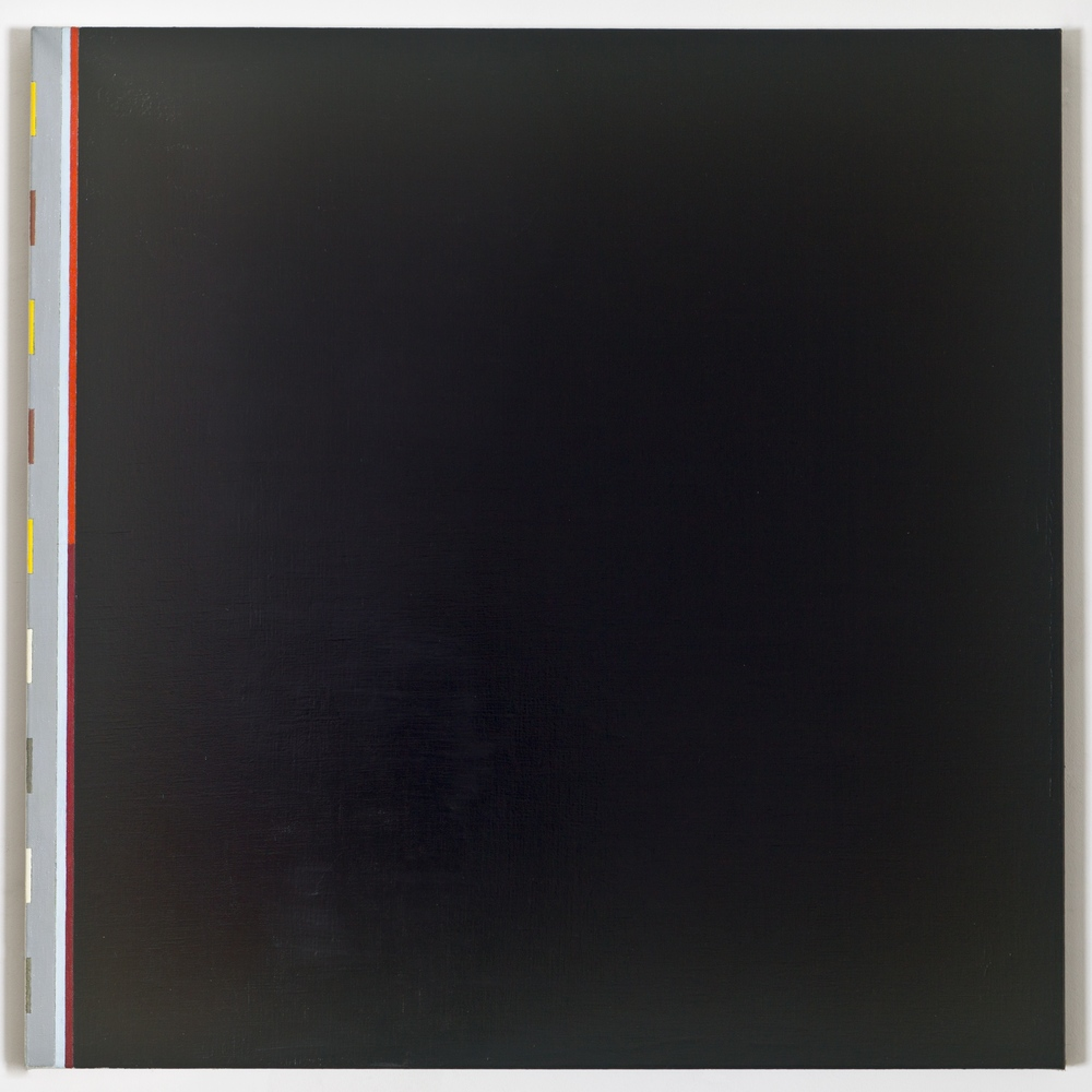 "Note Towards a History of the Sky, 1987, oil on linen, 38""x38"""