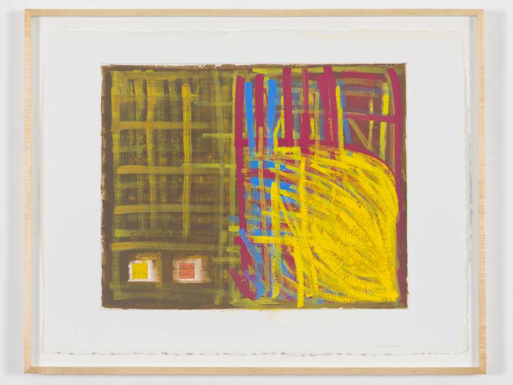 "October 15, 1997 (Clan Mcffgugh), 1997, gouache on paper, 26 1/2""x33 1/4"" (framed)"
