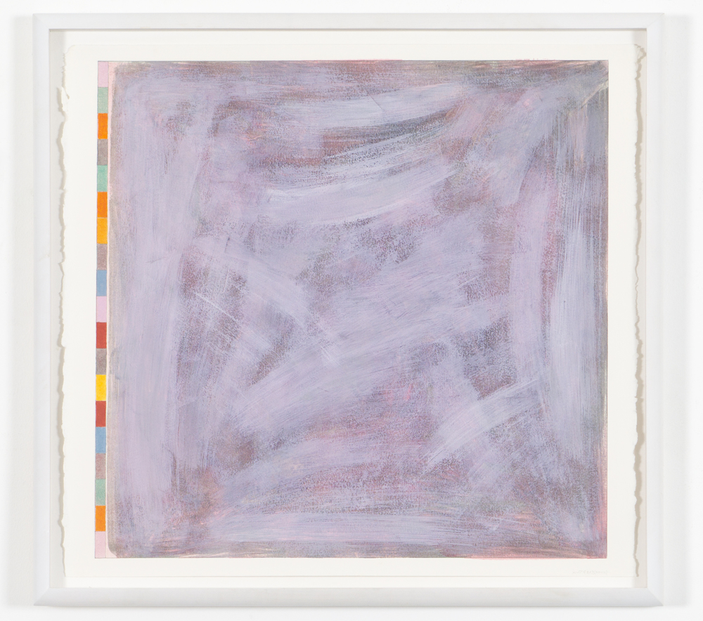 "Untitled (PG21), 2002, gouache on paper, 20 3/16""x20 3/4"" (image), 23 5/8""x23 3/8"" (paper)"