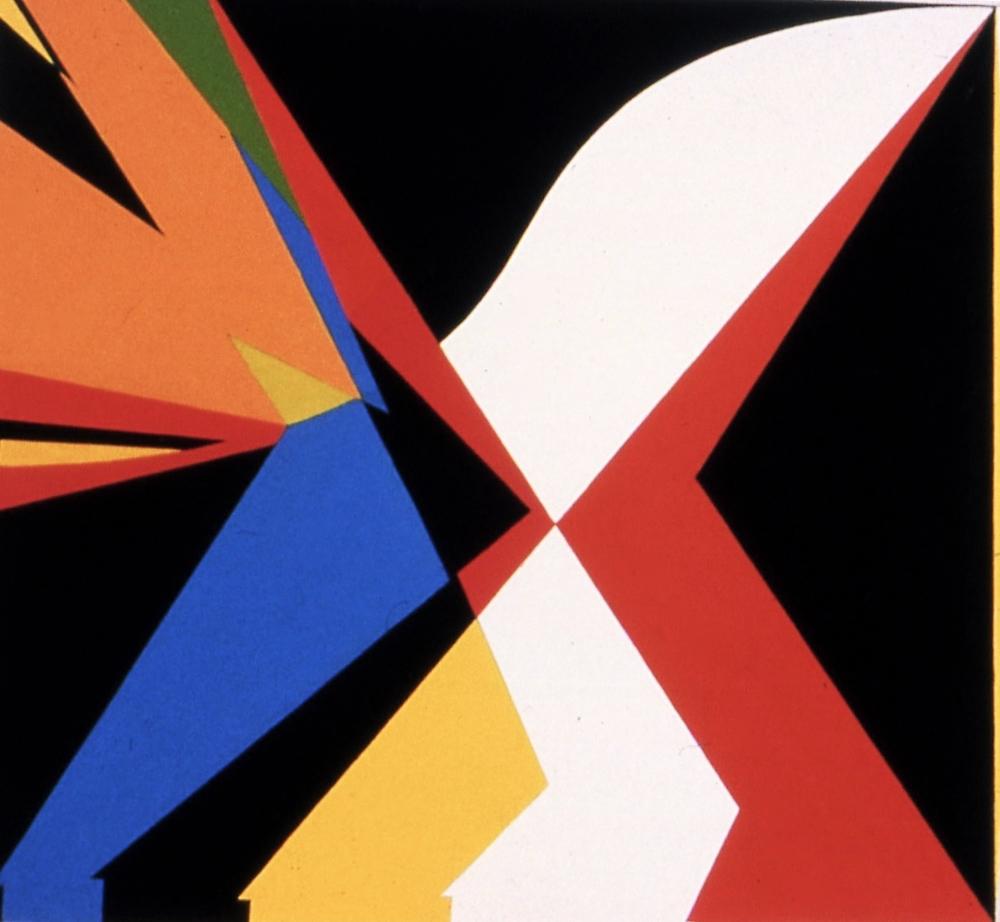 Leigh, 1985, Leigh on linen