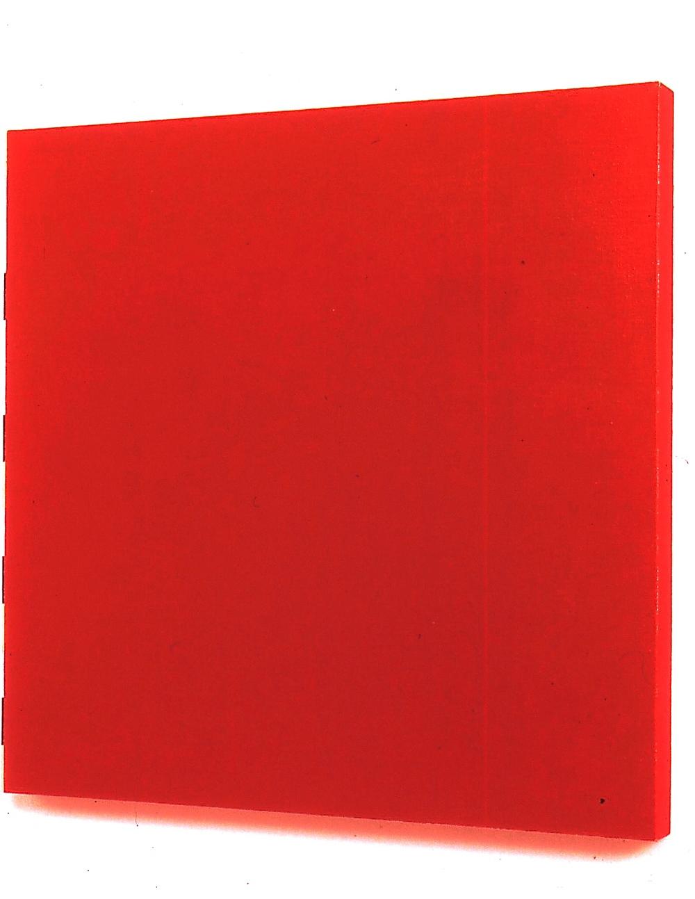 """Joe Slovo, 1991, oil on linen, 28""""x28""""x2"""""""