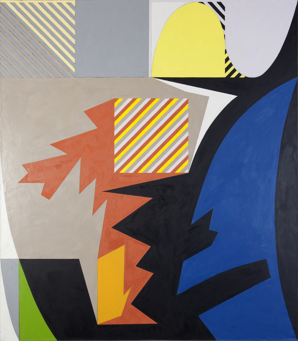 "Paddock Wood, 1985, oil on linen, 73""x64"" (Collection: Los Angeles County Museum of Art (LACMA))"