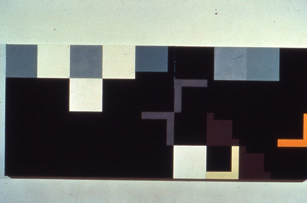 "Teutoberg AD, 1978, oil on canvas, 56""x132"""
