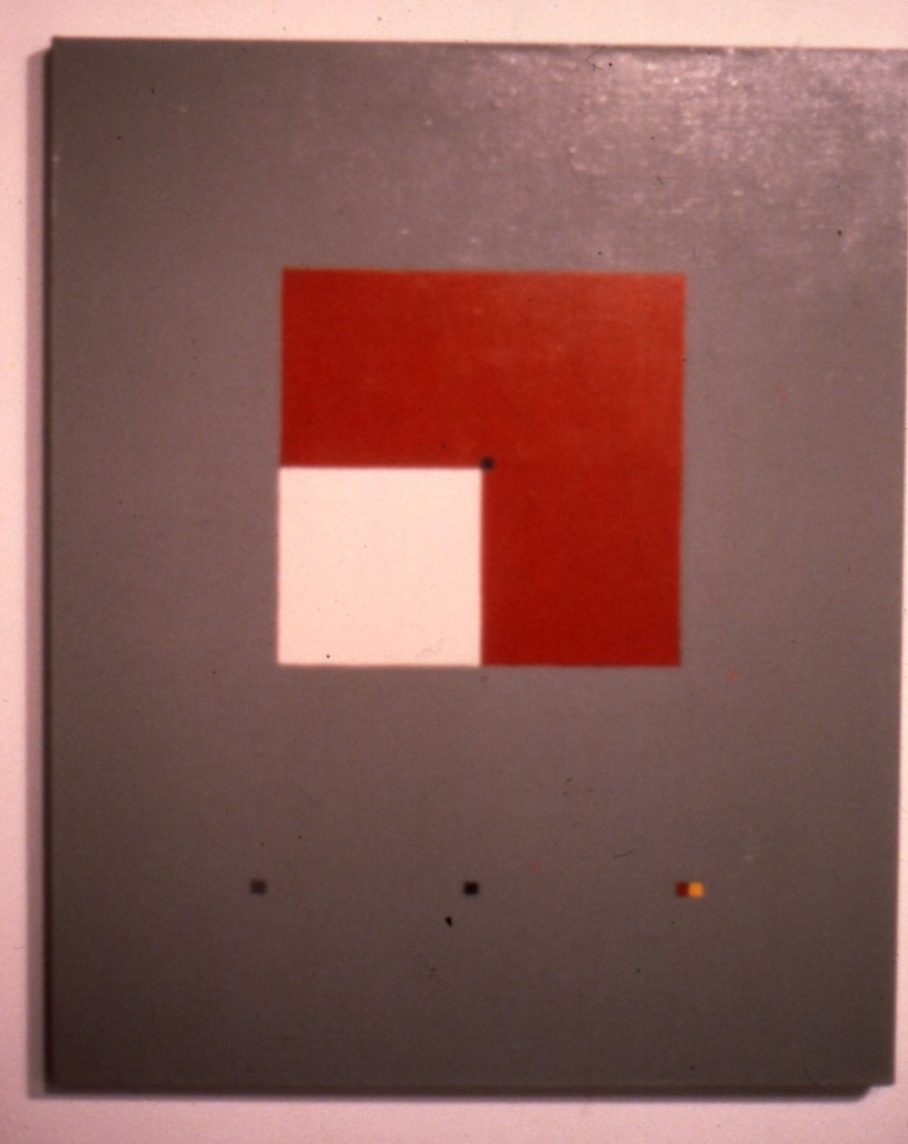 "Untitled, 1978, oil on canvas, 30""x24"""