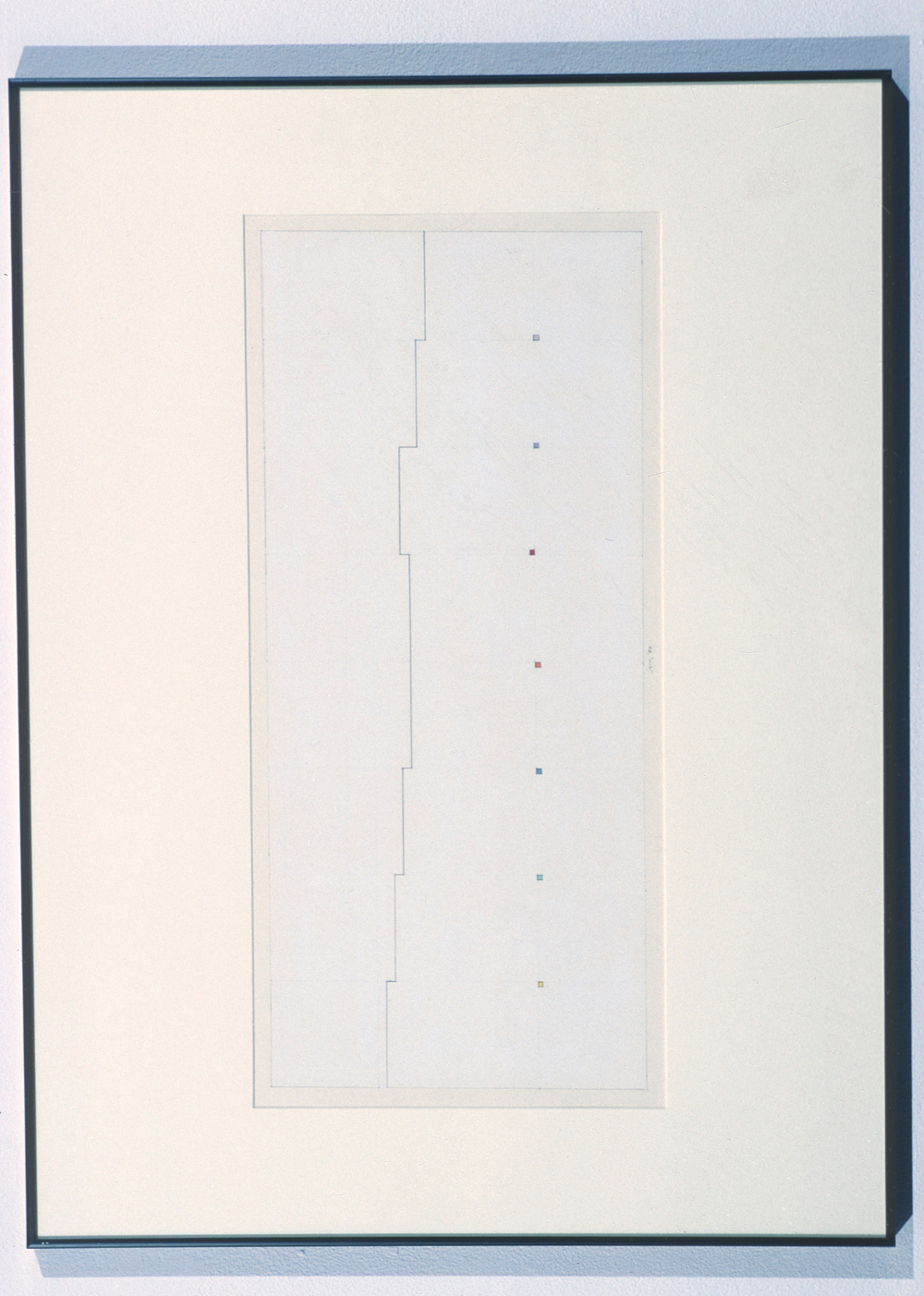 "Untitled, 1980. goauche on paper. 19.5""x27.5"""