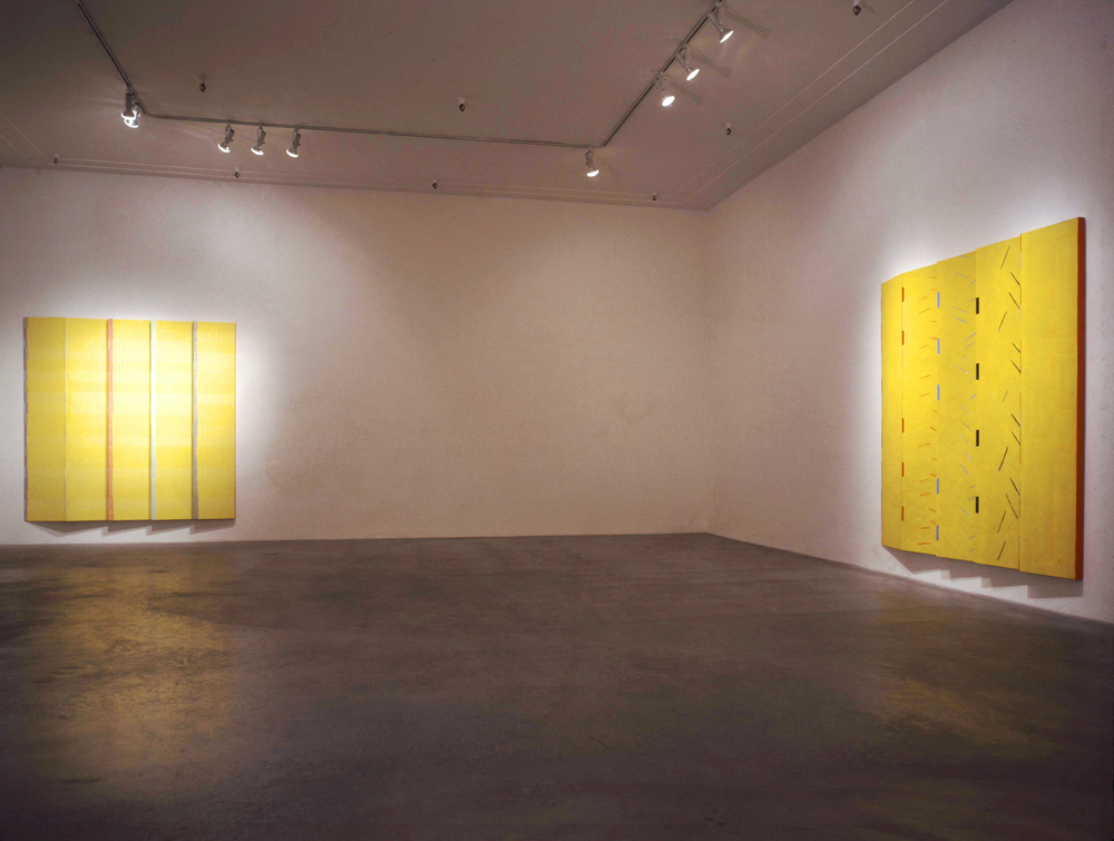 1991- Eisentein Paintings Installation Photo, Ace Gallery, Los Angeles, CA