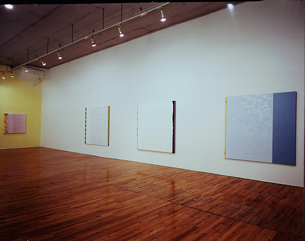 1989. Annie Plumb Gallery installation photo