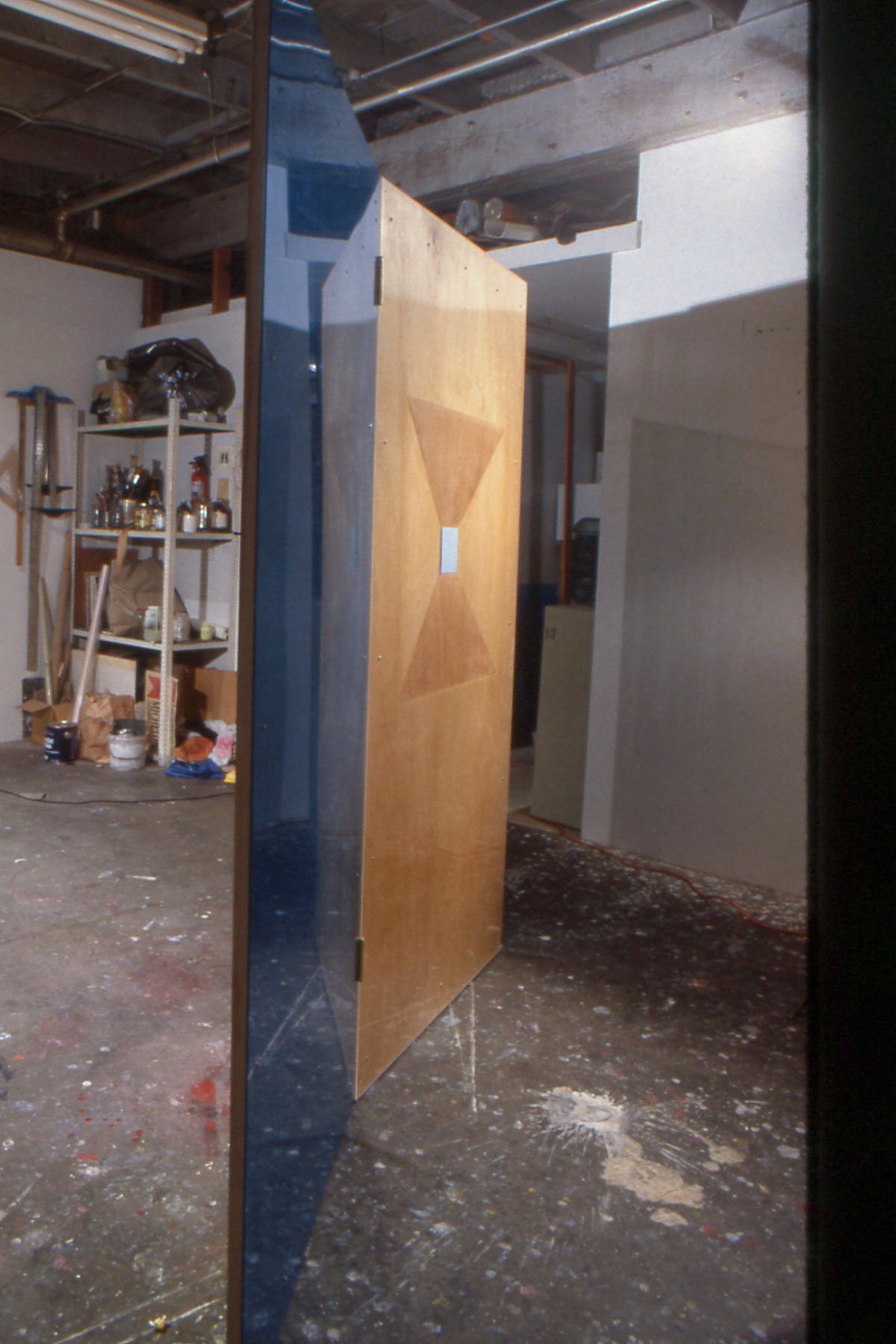 Frank Gehry Screen (back), 1990
