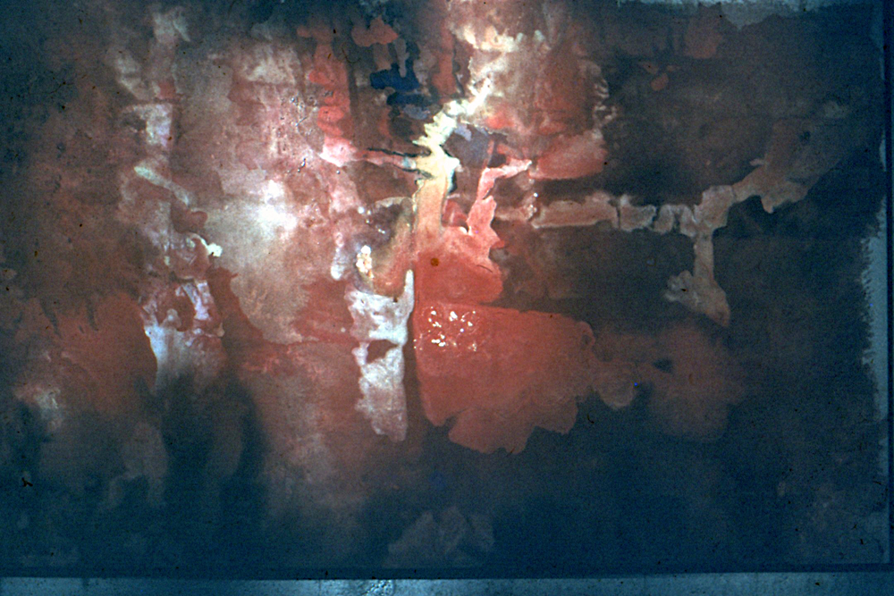 "GA10, 1971. Oil on canvas. 138""x84"""