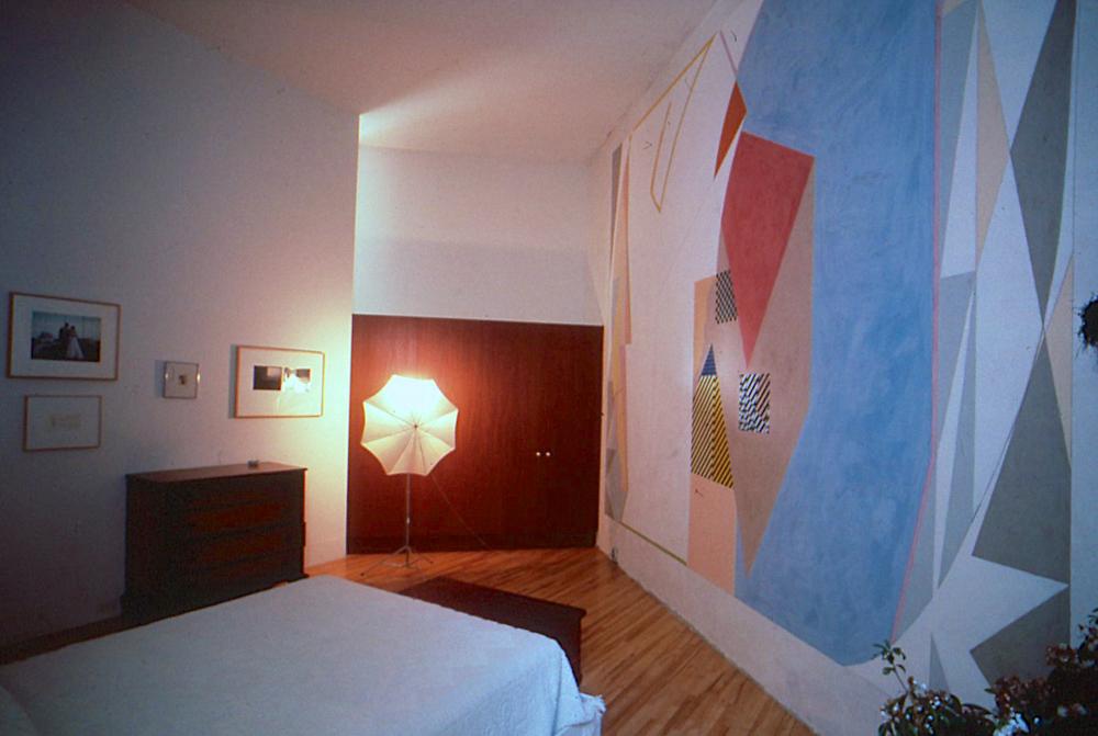 Fresco, 1985, approx. 11.5'x16'