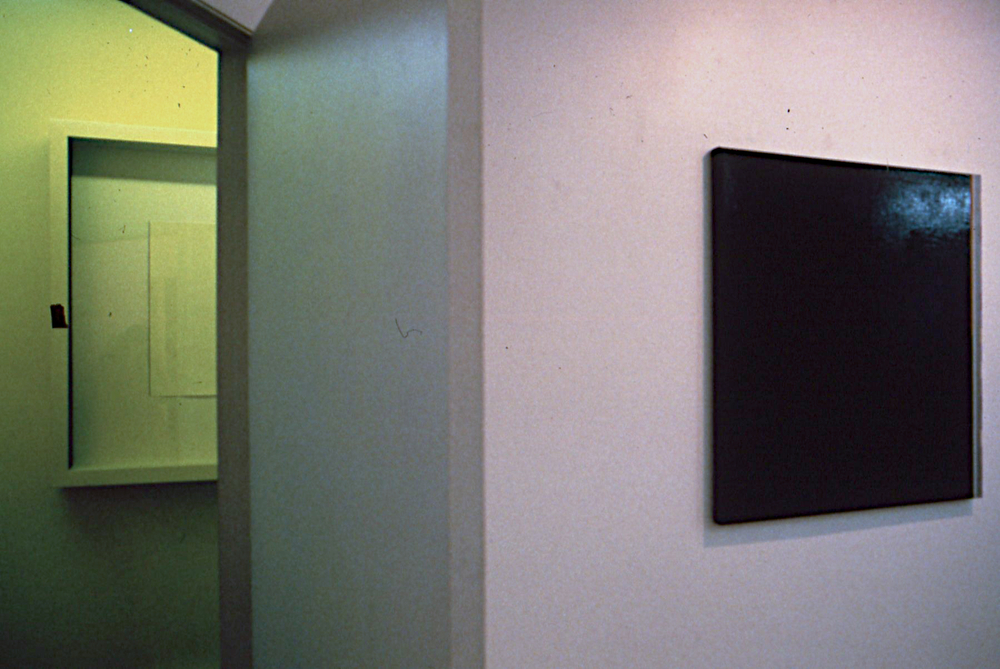 Tyler installation photo, 1988