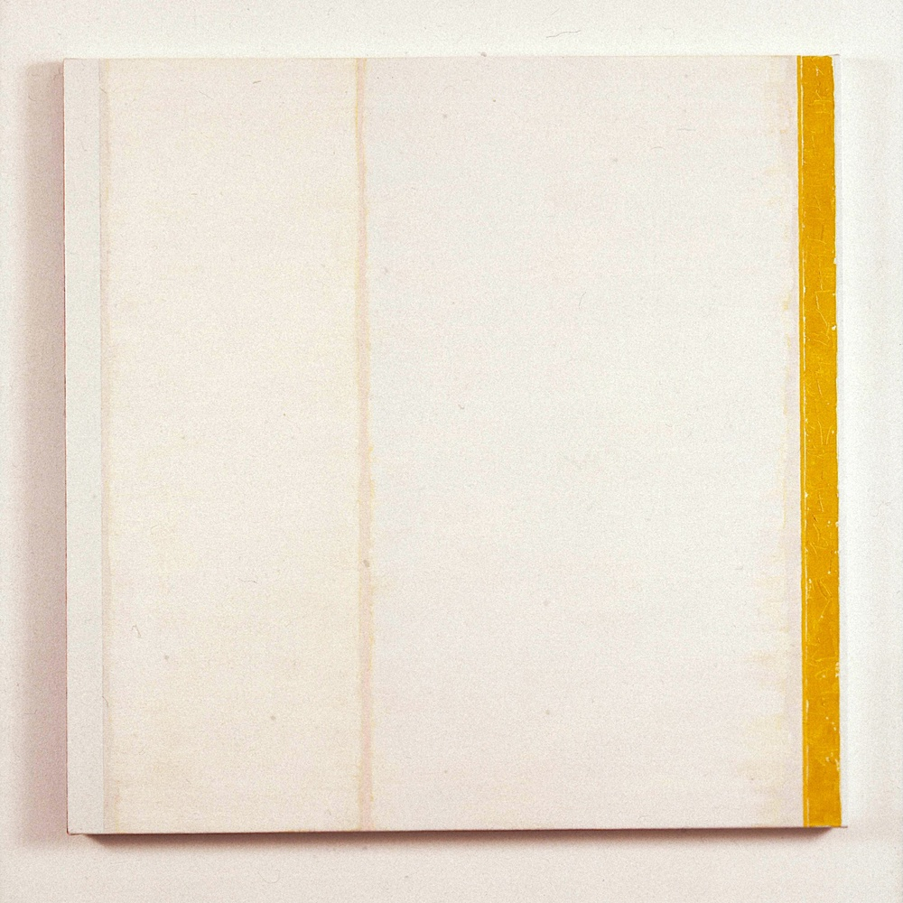 "Jena Group I, 1990. oil on linen. 40""x40""x0.5"""