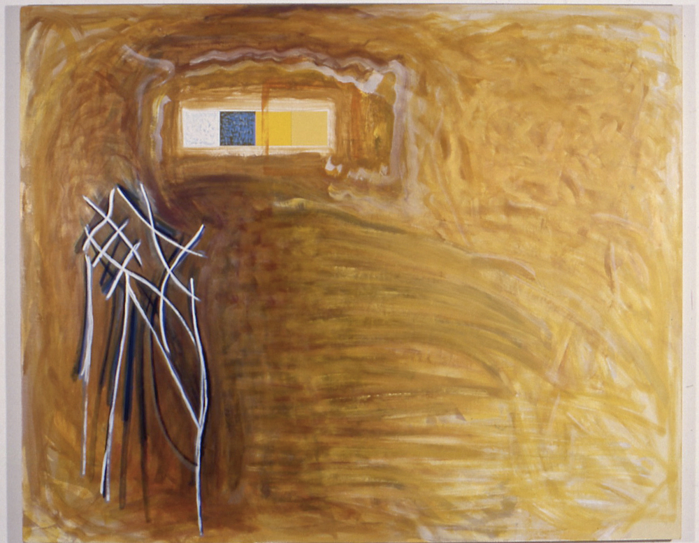 "Lightness, 1998, oil on linen, 70 1/2""x88""x2"""