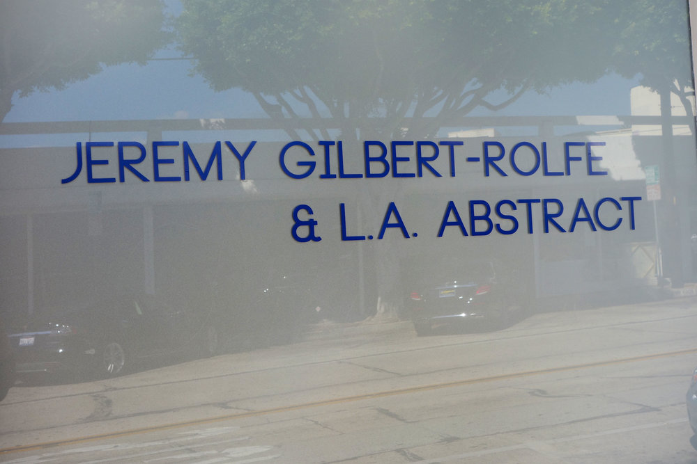 Jeremy Gilbert-Rolfe & LA Abstract, Louis Stern Fine Arts, Los Angeles, CA