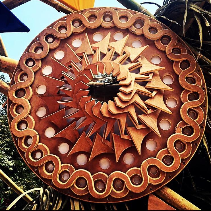 Envision woodcut lazer portal