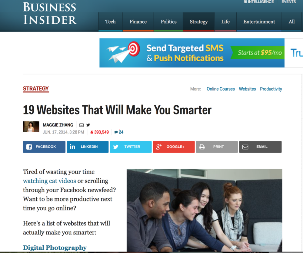 19 websites that will make you smarter