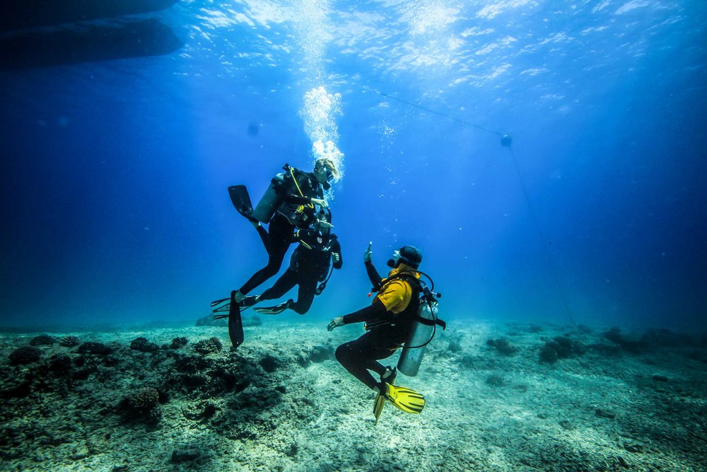 Two new divers discover the joy of scuba!