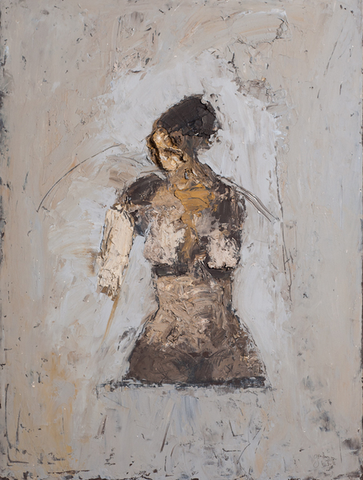 John Goodman  Figure 29 , 2011 30 x 22 inches, oil on panel