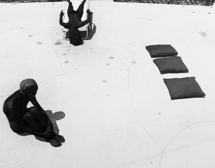Joann Callis  Black Sun Photograph ,1979 16 x 20 inches, gelatin silver print
