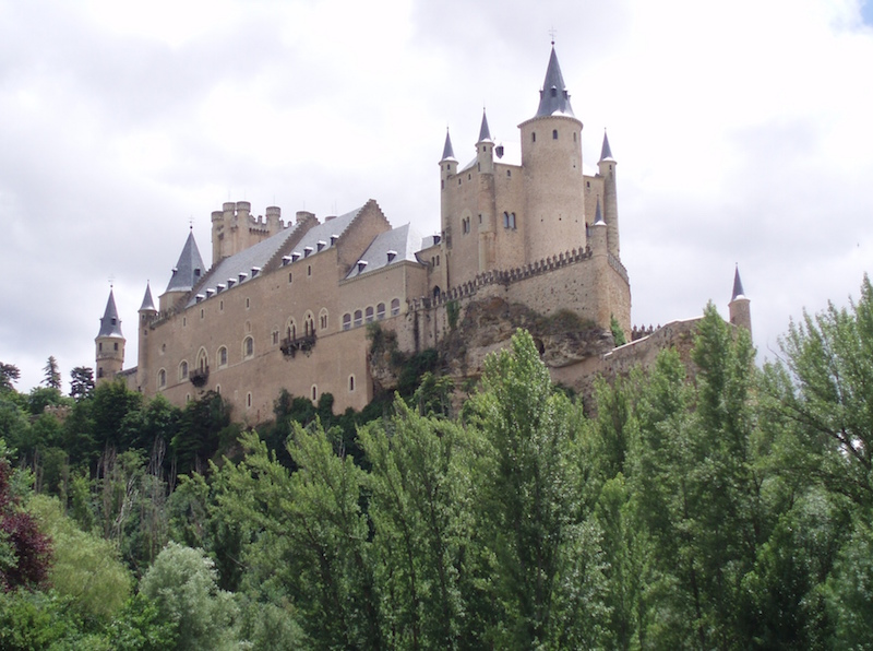Alcázar of Segovia Segovia, Spain