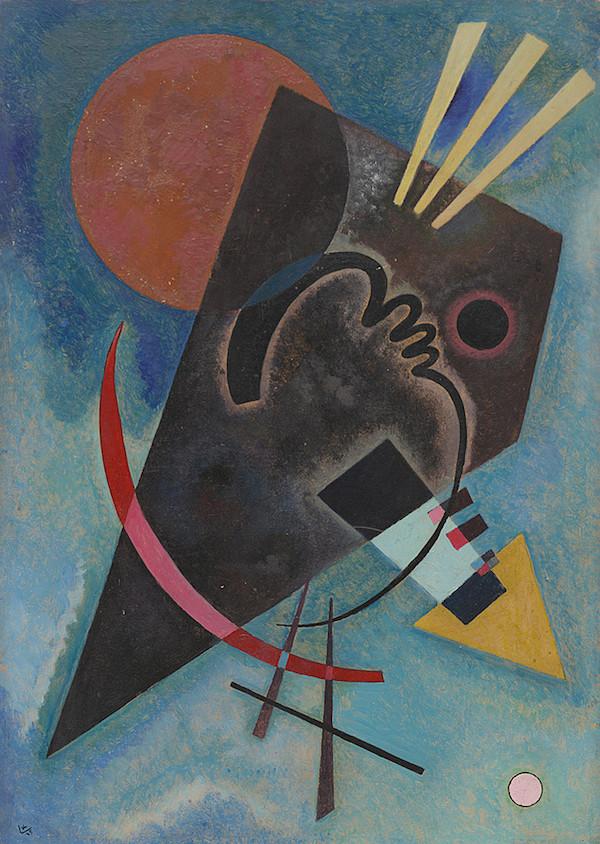 Wassily Kandinsky, Spitz und Rund, 1925 Solomon R. Guggenheim Museum, New York