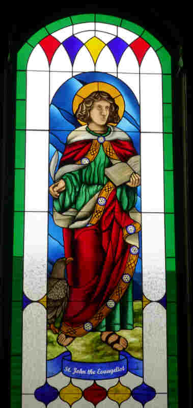 Saint John the Evangelist, 2012, Saint Margaret's Seattle.jpg