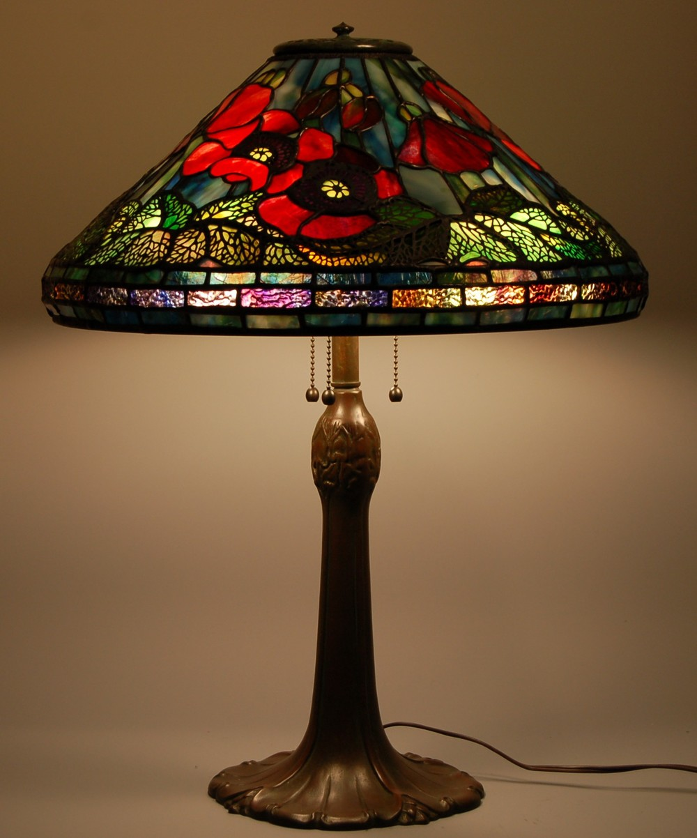 Repair Stained Glass Lamp Shade