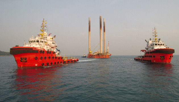 Wassana oil rig - Gulf of Thailand