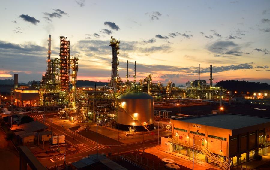 Oil refinery Petrobas Brazil