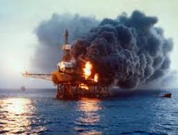 Piper Alpha oil rig explosion 1988
