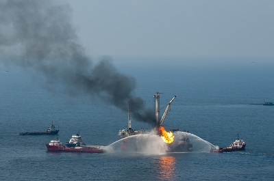 Deepwater Horizon explosion - Macondo oil well blowout