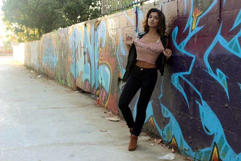 Shirt: Forever21 Vest:BLKDENIM Shoes: Dolce Vita Jeans: J. Brand Jeans