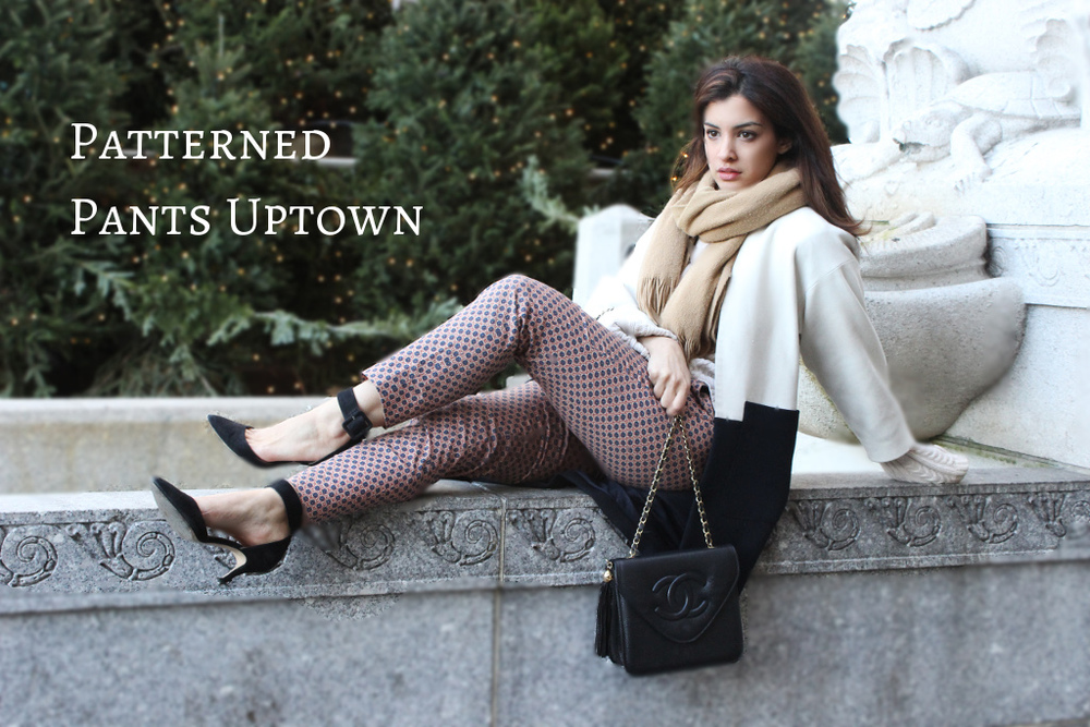 Patterned Pants Uptown