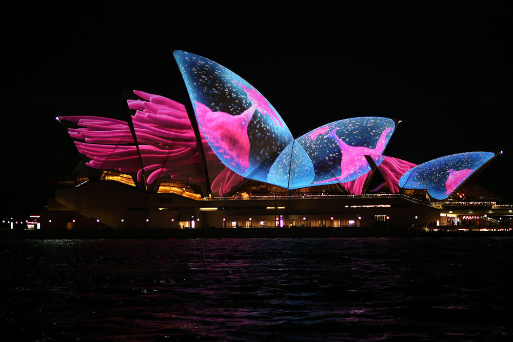 Opera in Vivid 2017  by Mark Thom  pson