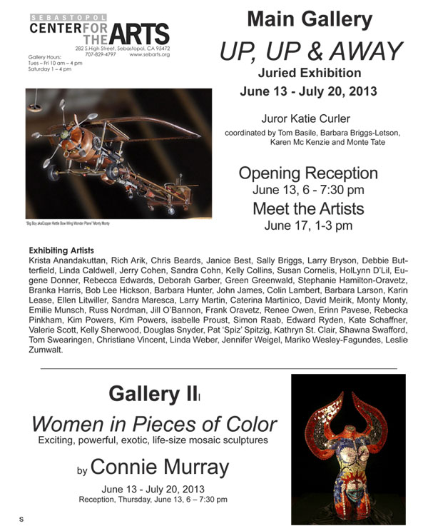 UP, UP, & AWAY exhibit ad
