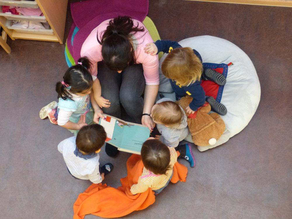 Konzentration und Spannung - Vorlesezeit
