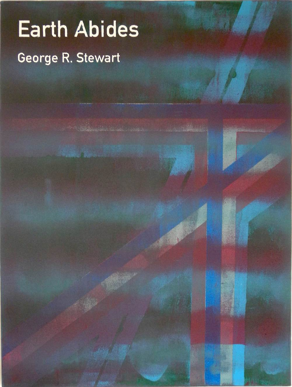 Heman CHONG  Earth Abides / George R. Stewart  2012 Acrylic on canvas 61 x 46 x 3.5 cm