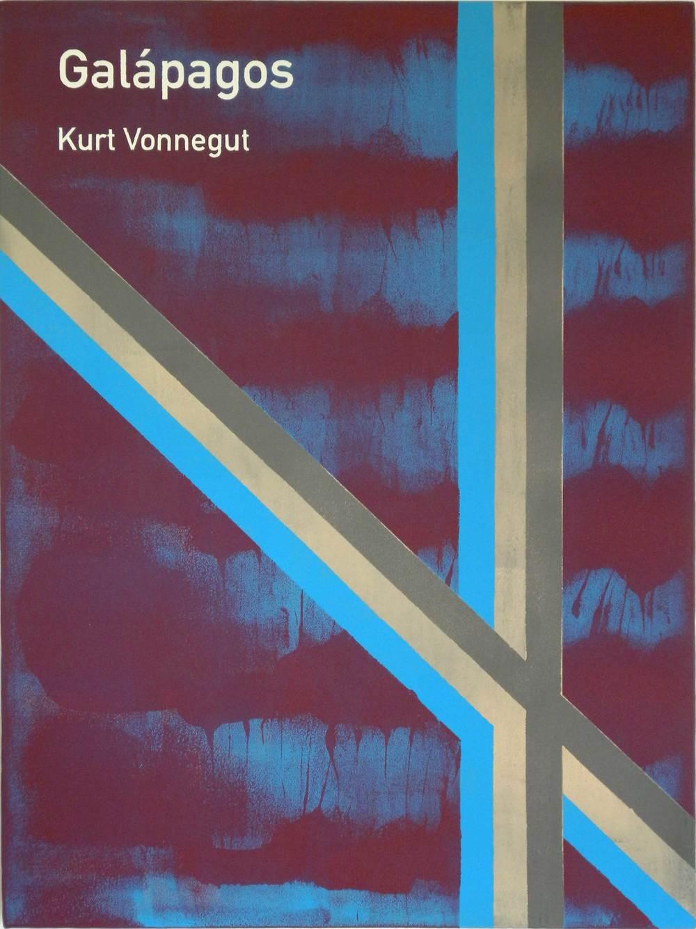 Heman CHONG  Galápagos / Kurt Vonnegut  2012 Acrylic on canvas 61 x 46 x 3.5 cm