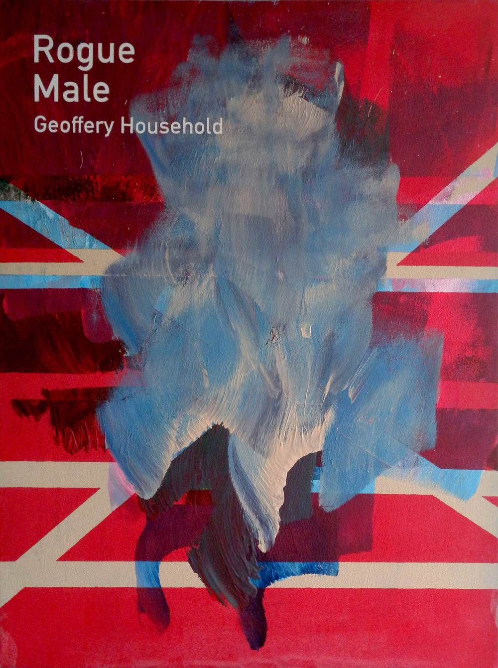 Heman CHONG  Rogue Male / Geoffery Household  2014 Acrylic on canvas 61 x 46 x 3.5 cm