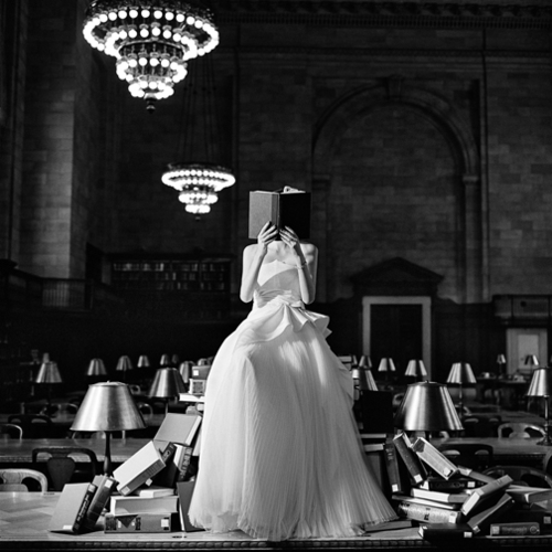 Rodney Smith  Flynn Reading on a Pile of Books, New York, NY  2012 Silver gelatin print 26.70 x 26.70 cm (image) Edition 1/25