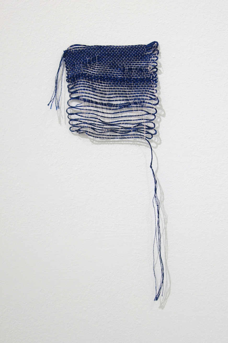 Izziyana Suhaimi, Small Studies of an Everyday Practice VI, 2014, Cotton thread; woven, H27 x W11 cm.jpg