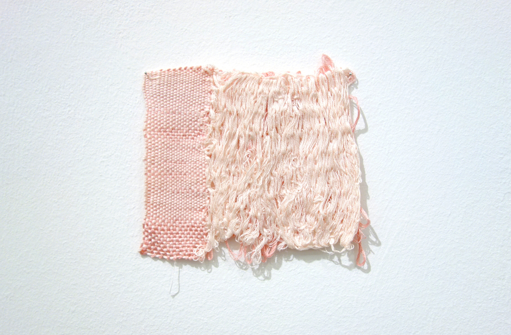 Izziyana Suhaimi, Small Studies of an Everyday Practice X, 2014, Cotton thread; woven, H11 x W13 cm.jpg