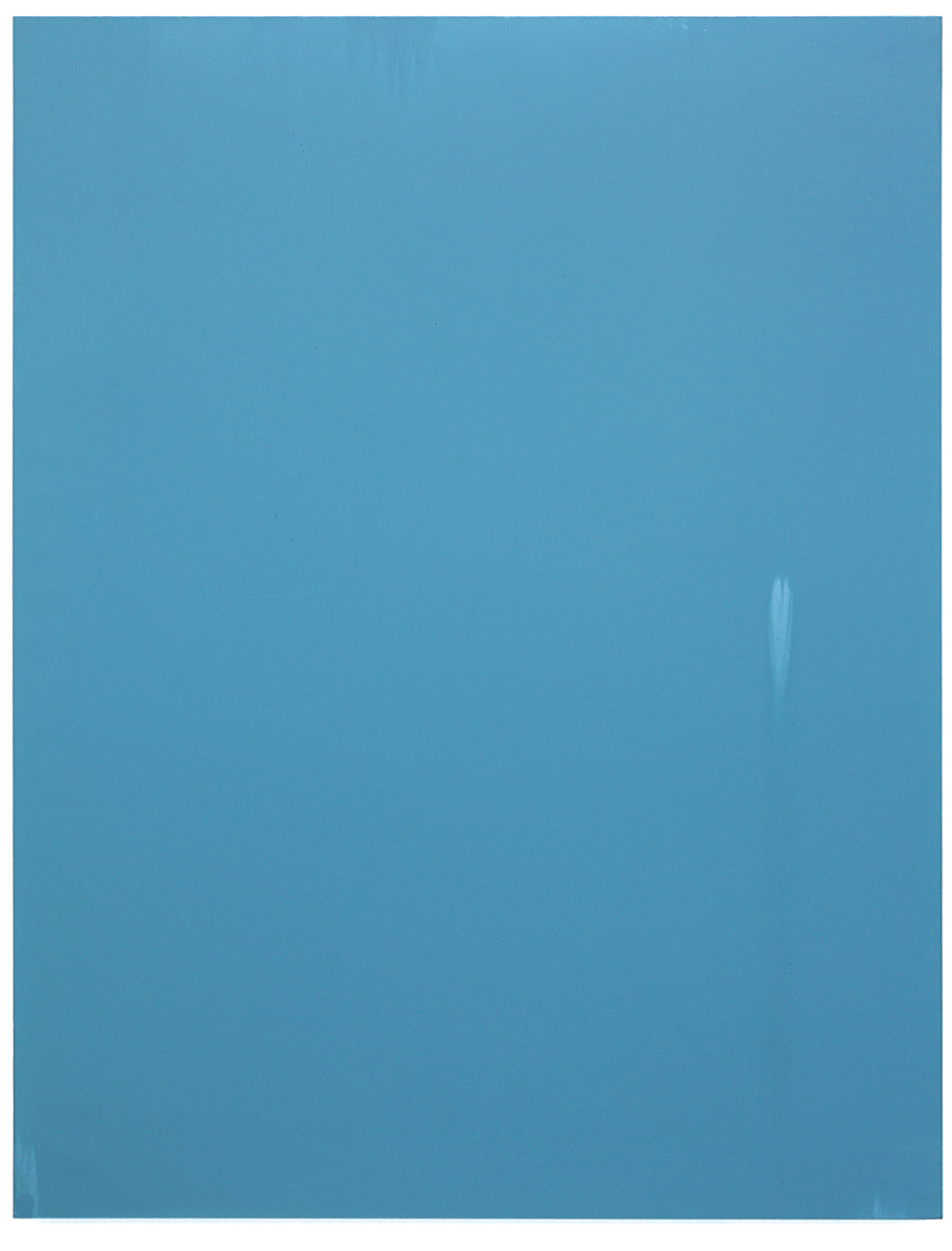 Luke HENG Blue on White 2015 Oil on linen H150 x W115 x D5 cm