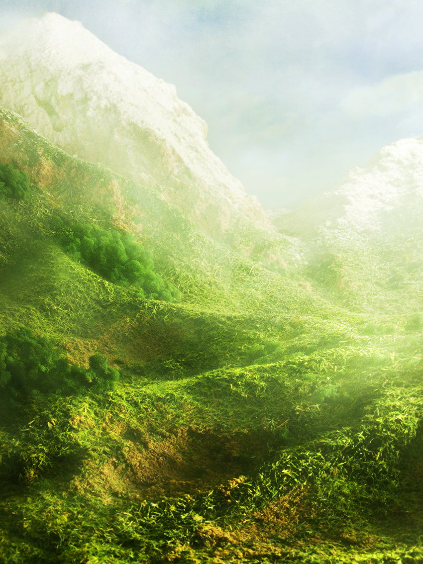 Sebastian Mary TAY  Redolent Hills and Delectable Mountains #5  2012/2013 Diasec Print H90 x W67.5 cm
