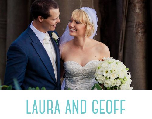 Laura and Geoff wedding photography