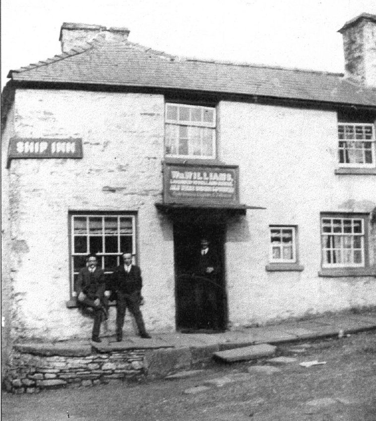 Ship Inn, no longer exists, but used to be at the top of Ship Pitch, which is now Newport St.