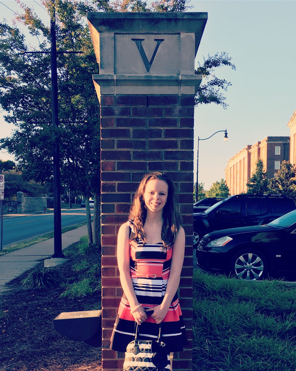 So grown up! Good luck Chloe!!!