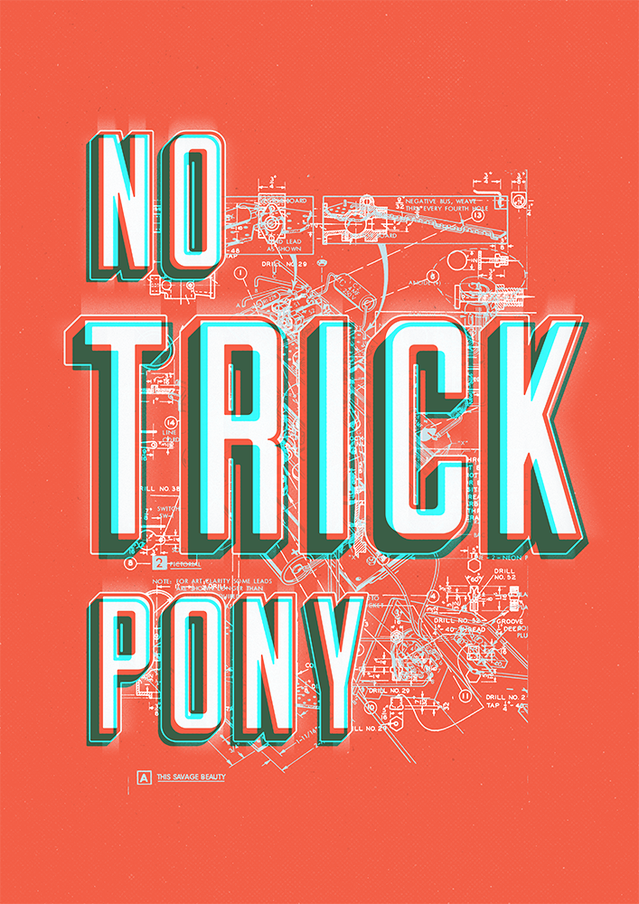 Poster - No Trick Pony TYPE - Julie Smits.png