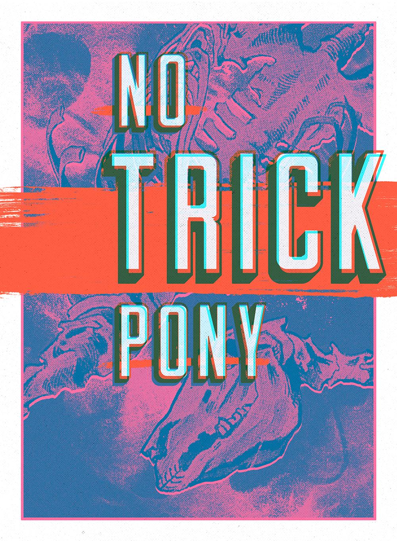Poster - No Trick Pony - Julie Smits.png