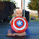 super baby: captain america - kenzie rister